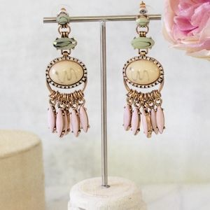 Gorgeous stone statement earrings